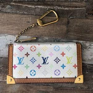 Louis Vuitton Multicolored Monogram Cles Key Pouch